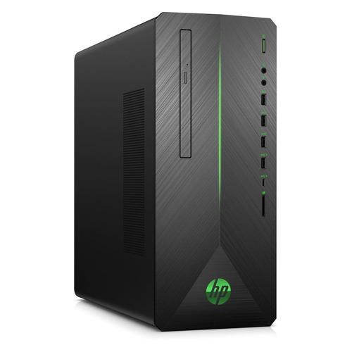 Компьютер HP Pavilion 790-0000ur, Intel Core i5 8400, DDR4 16Гб, 1000Гб, 128Гб(SSD), NVIDIA GeForce GTX 1070 - 8192 Мб, DVD-RW, CR, Windows 10, черный [4dv18ea] компьютер msi vortex g25 8re 033ru intel core i7 8700 ddr4 16гб 1000гб 256гб ssd nvidia geforce gtx 1070 8192 мб windows 10 черный [9s7 1t3111 033]