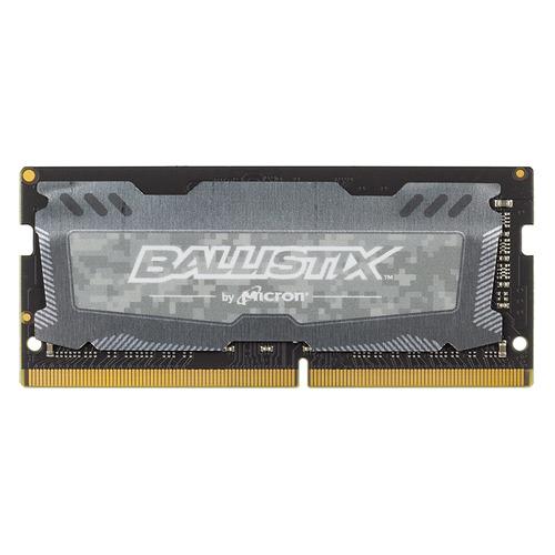 Модуль памяти CRUCIAL Ballistix Sport LT BLS4G4S26BFSD DDR4 - 4Гб 2666, SO-DIMM, Ret цена 2017