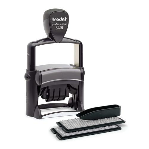 Датер автоматический TRODAT 5465/DB Professional, оттиск 56 х 33 мм, шрифт 3.1/2.2 мм, прямоугольный [5465 professional 4.0] 5465/DB Professional по цене 3 970
