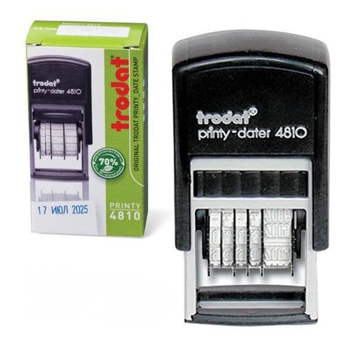 Датер TRODAT 4810 PRINTY BANK, оттиск 20 х 4 мм, прямоугольный