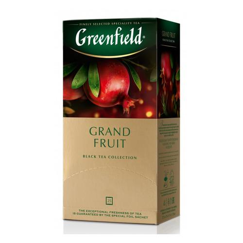 Чай Greenfield Grand Fruit черный гранат 25пак. карт/уп. (1387-10) 10 шт./кор.