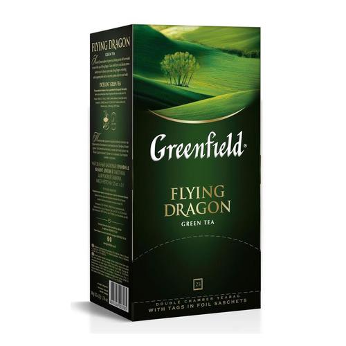 Чай Greenfield Flying Dragon зеленый 25пак. карт/уп. (0358-10) 10 шт./кор.