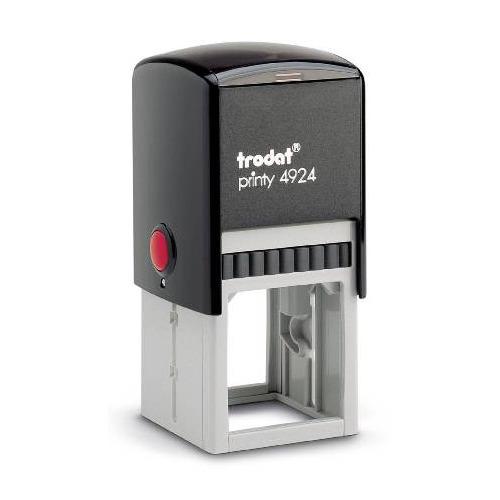 Оснастка автоматический TRODAT 4924 PRINTY 4.0, оттиск 40 мм, круглый/прямоугольный