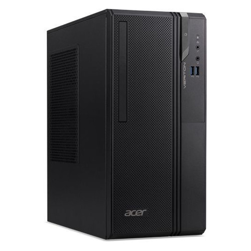 Компьютер ACER Veriton ES2730G, Intel Core i3 8100, DDR4 8Гб, 256Гб(SSD), Intel UHD Graphics 630, Windows 10 Professional, черный [dt.vs2er.020] офисный компьютер mxp i3 8100 8гб 1тб
