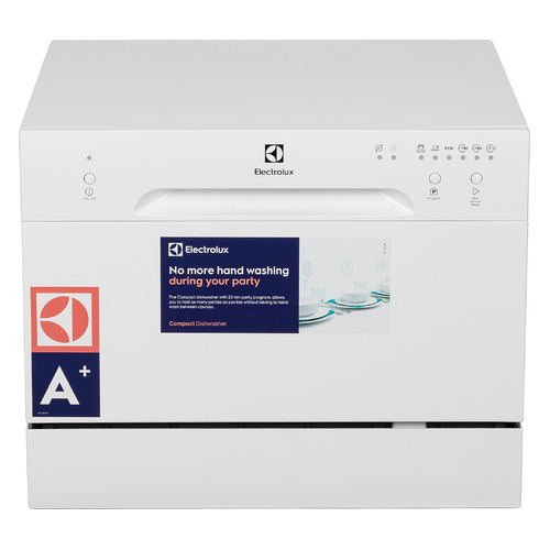 Посудомоечная машина ELECTROLUX ESF2300DW, компактная, белая посудомоечная машина hyundai dt205 компактная белая