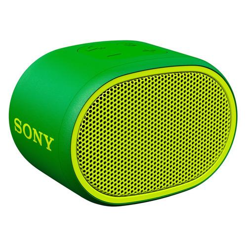 Портативная колонка SONY SRS-XB01, 3Вт, зеленый [srsxb01g.ru2] sony