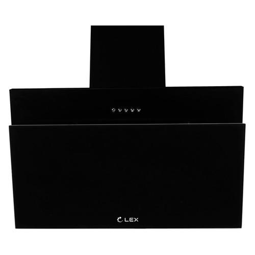 Вытяжка каминная Lex Luka 600 черный управление: кнопочное (1 мотор) цена и фото