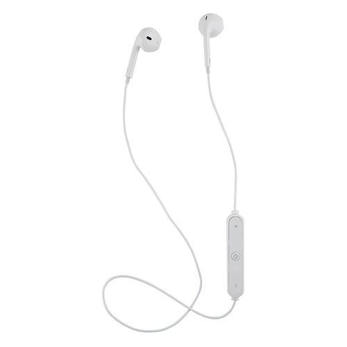 Наушники с микрофоном REDLINE BHS-01, Bluetooth, вкладыши, белый [ут000013645]