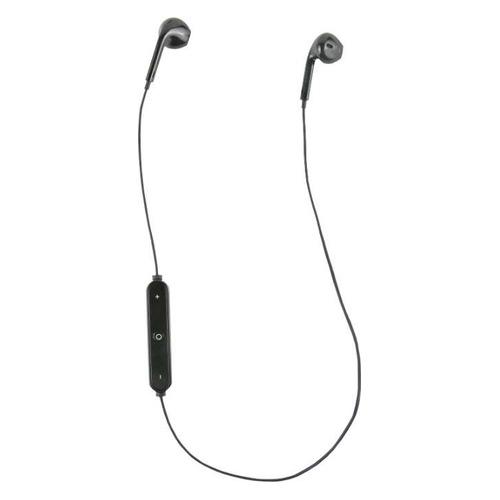 Наушники с микрофоном REDLINE BHS-01, Bluetooth, вкладыши, черный [ут000013644]