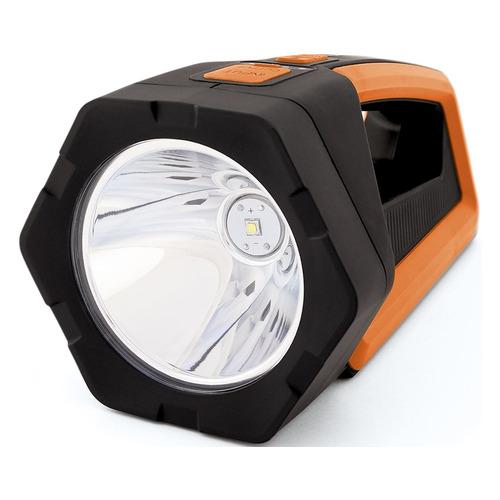 Универсальный фонарь ЯРКИЙ ЛУЧ S-600 BIZON, черный / оранжевый, 12Вт