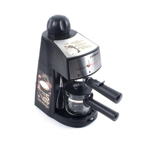 лучшая цена Кофеварка ENDEVER Costa-1050, эспрессо, черный [70120]