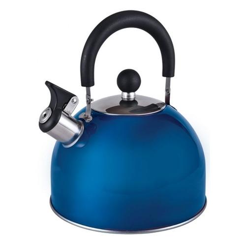 Фото - Металлический чайник ENDEVER 301, 3л, синий [80477] endever чайник aquarelle 301 302 303 3 л красный