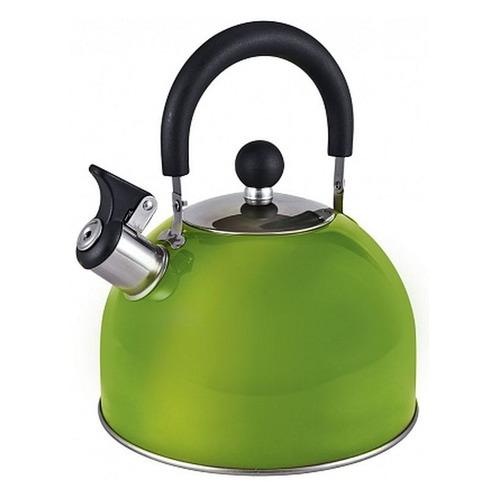 Фото - Металлический чайник ENDEVER 303, 3л, зеленый [80479] endever чайник aquarelle 301 302 303 3 л красный