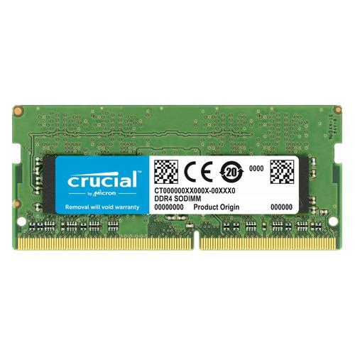 Модуль памяти CRUCIAL CT16G4SFD8266 DDR4 - 16Гб 2666, SO-DIMM, Ret цена 2017