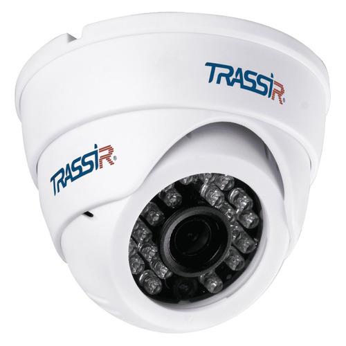 Фото - Видеокамера IP TRASSIR TR-D8121IR2W, 1080p, 2.8 мм, белый видеокамера ip trassir tr d2121ir3 1080p 2 8 мм белый