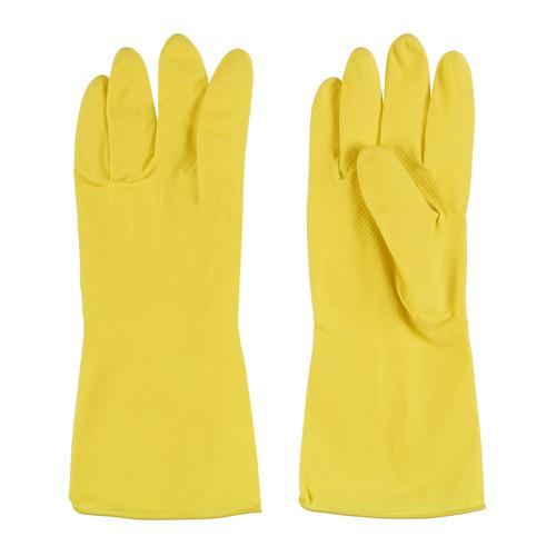 Перчатки хлопок TEXTOP многоразовые, размер: L, латекс, 1 пара [t619]