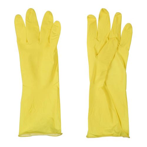 Перчатки хлопок TEXTOP многоразовые, размер: L, латекс, 1 пара [t824]