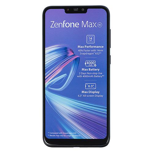 Смартфон ASUS ZenFone MAX M2 32Gb, ZB633KL, черный