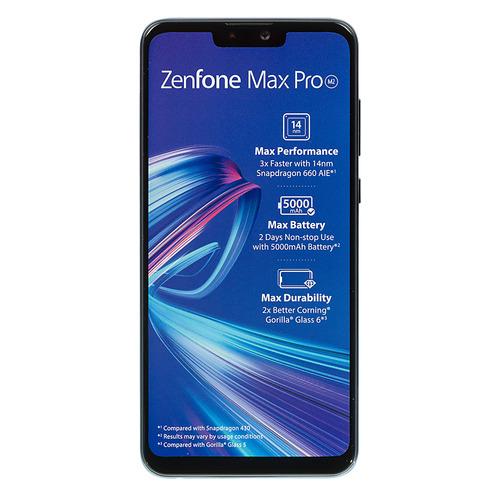 Смартфон ASUS ZenFone MAX PRO M2 64Gb, ZB631KL, синий