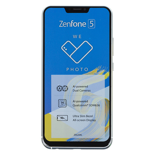 Смартфон ASUS Zenfone 5 64Gb, ZE620KL, белый смартфон asus zenfone 5 ze620kl 4 64gb midnight blue