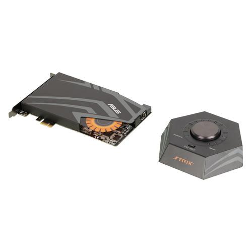 Звуковая карта PCI-E ASUS Strix Raid DLX, 7.1, Ret