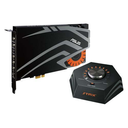 Звуковая карта PCI-E ASUS Strix Raid Pro, 7.1, Ret цена 2017