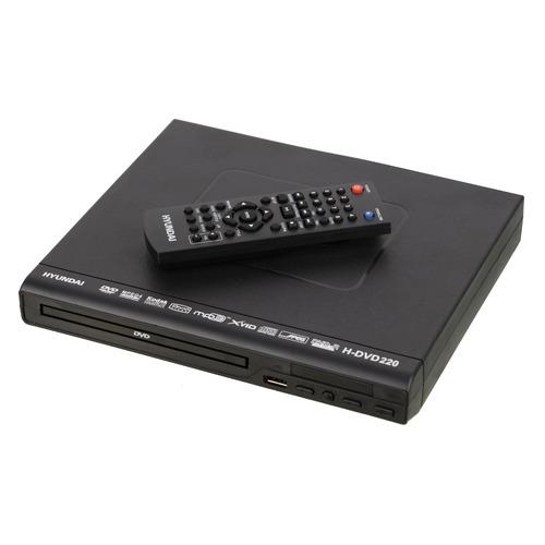 Фото - DVD-плеер HYUNDAI H-DVD220, черный dvd плеер bbk dvp030s