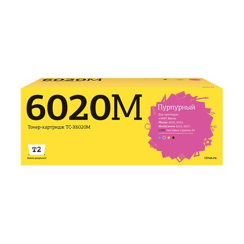 Картридж T2 TC-X6020M, пурпурный [106r02761]
