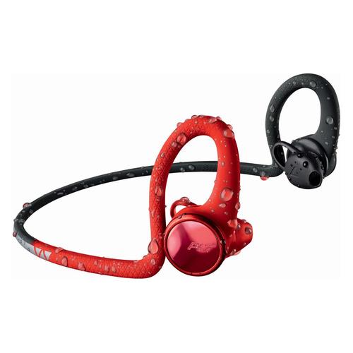 цена на Наушники PLANTRONICS BackBeat Fit 2100, Bluetooth, вкладыши, черный матовый/красный матовый [212203-99]