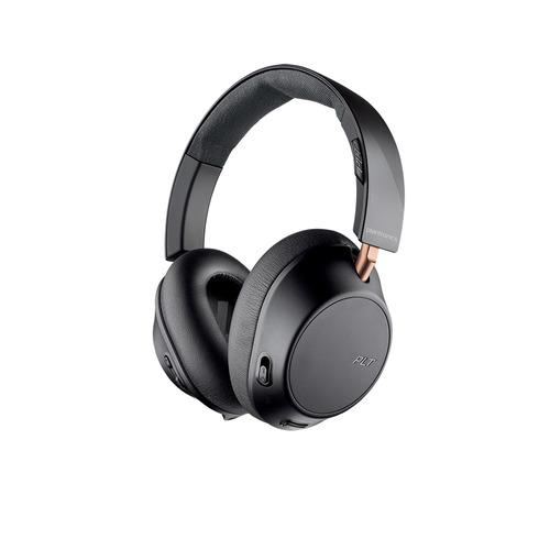 Наушники с микрофоном PLANTRONICS BackBeat Go 810, 3.5 мм/Bluetooth, мониторы, черный 211820-99