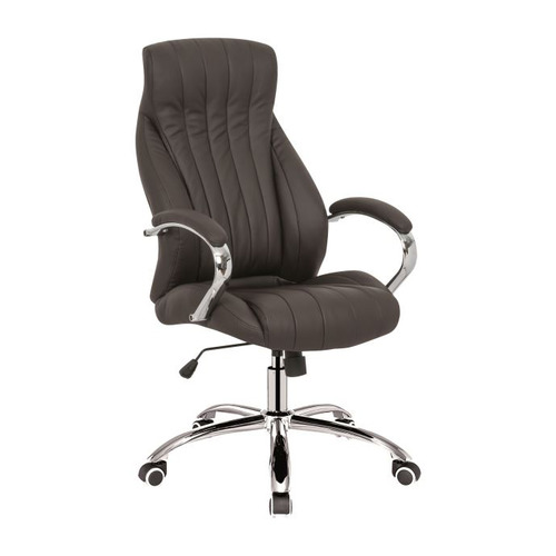 Кресло руководителя БЮРОКРАТ CH-S870, на колесиках, искусственная кожа, черный [ch-s870/black]