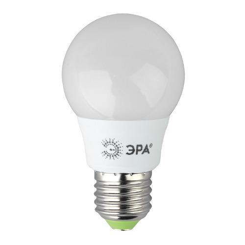 Упаковка ламп ЭРА A55-6W-840-E27, 6Вт, 480lm, 25000ч, 4000К, E27, 3 шт. [б0028007] A55-6W-840-E27 по цене 200