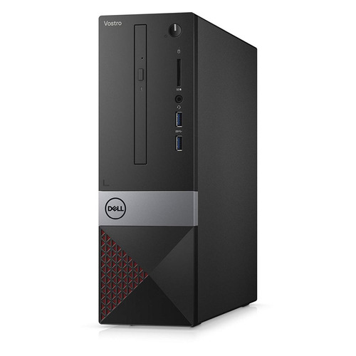 Компьютер DELL Vostro 3470, Intel Core i5 8400, DDR4 4Гб, 1000Гб, Intel UHD Graphics 630, DVD-RW, CR, Windows 10 Professional, черный [3470-3018] ultrafire 455lm 5 mode memory white zooming flashlight silver 1 x 18650 3 x aaa