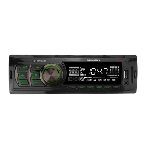 Автомагнитола SOUNDMAX SM-CCR3063FB, USB, SD/MMC