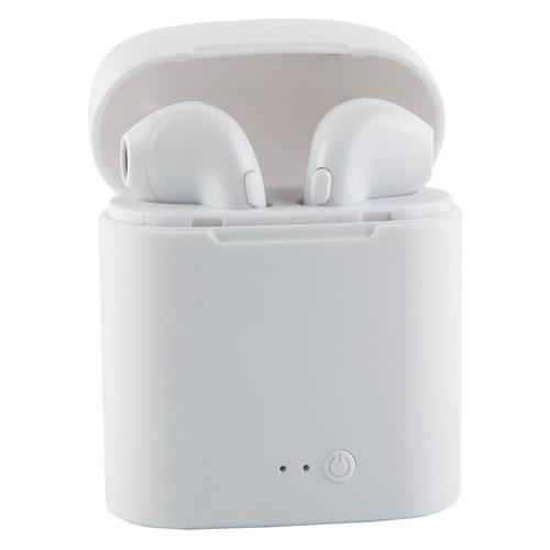 Наушники с микрофоном REDLINE BHS–08, Bluetooth, вкладыши, белый [ут000015583] наушники с микрофоном harper hb 302 bluetooth вкладыши белый [h00002046]