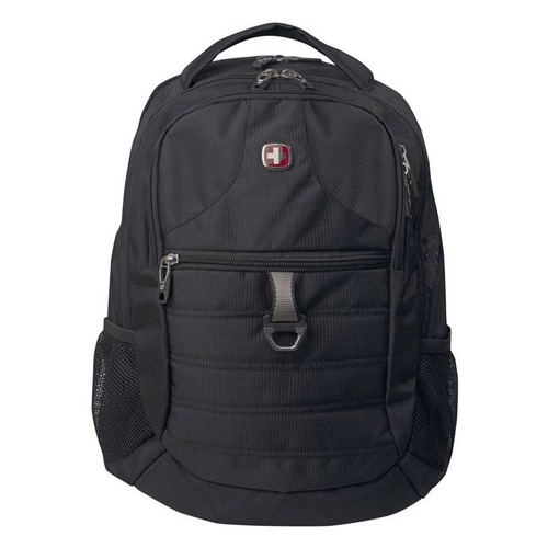 Рюкзак Wenger 600D PU черный 5888202423 34x19x46см 29л. цена и фото