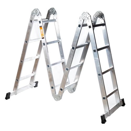 Лестница Вихрь 73/5/1/15 алюминий 4ступ. H4.33м макс.нагр.:120кг лестница вихрь лта 4х3 алюминий 3ступ h3 3м макс нагр 120кг 73 5 1 14