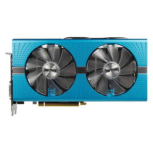 Видеокарта SAPPHIRE AMD Radeon RX 590 , 11289-01-20G NITRO+ RADEON RX 590 8G, 8Гб, GDDR5, OC, Ret