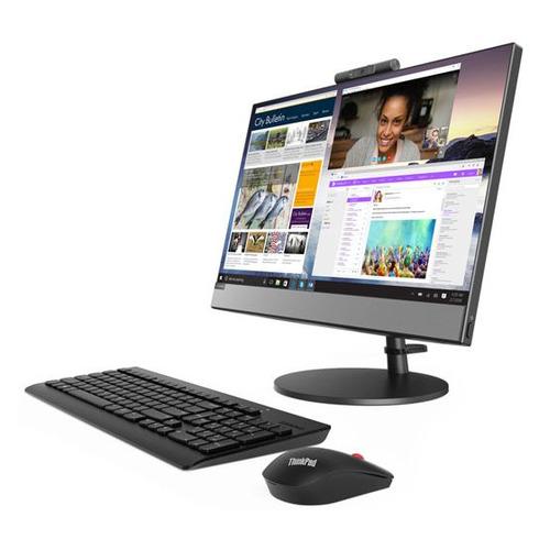 Моноблок LENOVO V530-22ICB, 21.5, Intel Core i5 8400T, 8Гб, 1000Гб, Intel UHD Graphics 630, DVD-RW, Windows 10 Professional, черный [10us000cru] моноблок 21 5 lenovo v530 22 1920 x 1080 intel core i5 8400t 8gb 1 tb intel uhd graphics 630 windows 10 professional серый черный 10us000cru 10us000cru