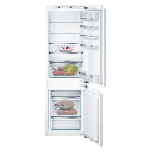лучшая цена Встраиваемый холодильник BOSCH KIN86HD20R белый