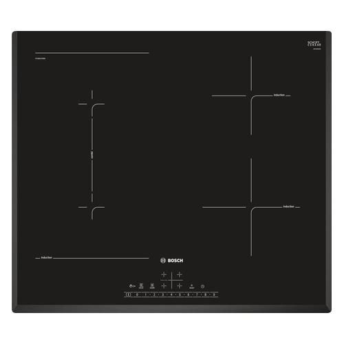 Индукционная варочная панель BOSCH PVS651FB5E, индукционная, независимая, черный