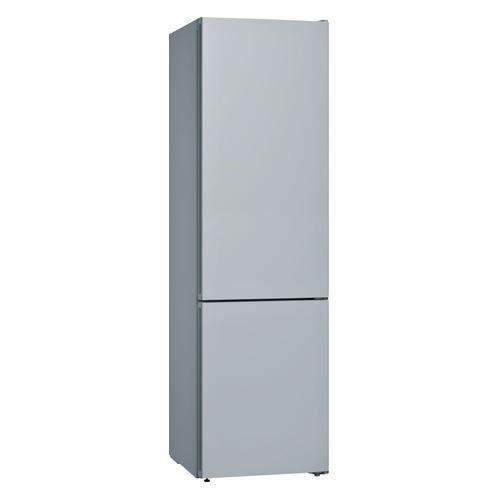 цены Холодильник BOSCH KGN39IJ31R, со сменными цветными панелями, двухкамерный, серебристый