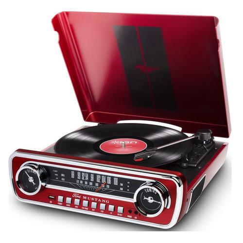 Фото - Проигрыватель винила ION Audio Mustang LP частично автоматический красный футболка классическая printio об оптимизме