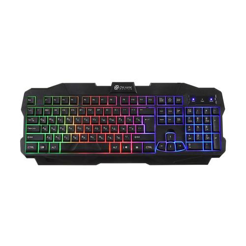 Клавиатура OKLICK 757G MADNESS, USB, черный