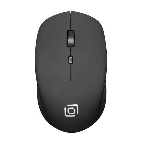 лучшая цена Мышь OKLICK 565MW matt, оптическая, беспроводная, USB, черный