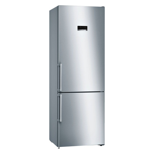Холодильник BOSCH KGN49XI2OR, двухкамерный, нержавеющая сталь холодильник bosch kgv39xl22r двухкамерный нержавеющая сталь