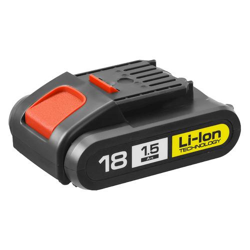Батарея аккумуляторная Зубр АКБ-18-Ли 15М1 18В 1.5Ач Li-Ion батарея аккумуляторная зубр акб 12 ли 15м3 12в 1 5ач li ion