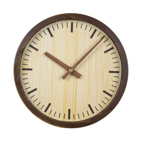 Настенные часы БЮРОКРАТ Wood WALLC-R60P, аналоговые, коричневый