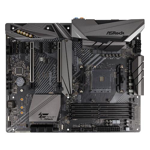Материнская плата ASROCK X470 GAMING K4, SocketAM4, AMD X470, ATX, Ret цена и фото