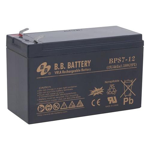 Батарея для ИБП BB BPS 7-12 12В, 7Ач батарея для ибп apc rbc2 12в 7ач